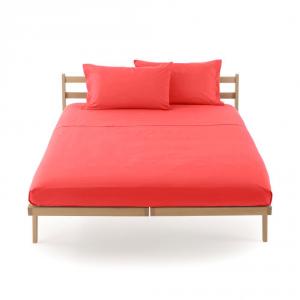 Lenzuolo piano di sopra letto singolo 160x290 cm CLIC CLAC Zucchi - corallo 1945
