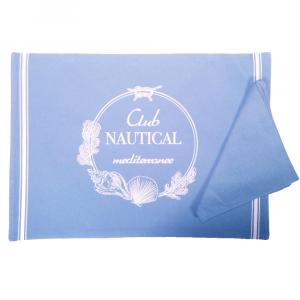Set tovagliette americane da colazione - CLUB NAUTICAL azzurro