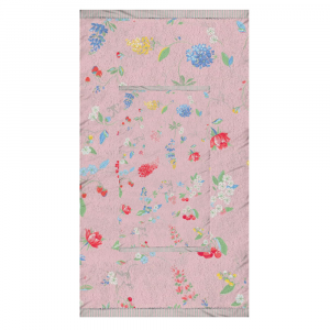 Set 1+1 asciugamano e ospite PIP STUDIO Hummingbirds rosa