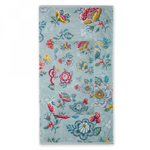 Set 1+1 asciugamano e ospite PIP STUDIO Berry Bird azzurro
