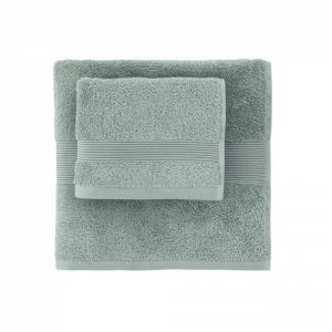 Telo da bagno in spugna 100x150 cm SOLO TUO Zucchi - var. menta 1267