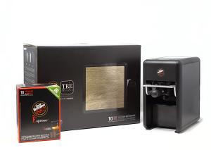 Macchina caffè Mini Trè Vergnano + 50 Capsule OMAGGIO