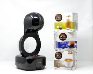 Macchina caffè automatica Lumio + 48 Capsule