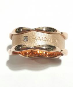 Anello Salvini Gioielli Sunny Oro Rosa e Diamanti 20075599
