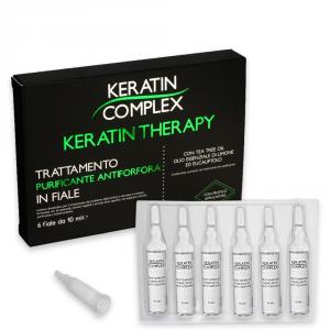 Keratin complex trattamento purificante antiforfora 6 fiale da 10 ml