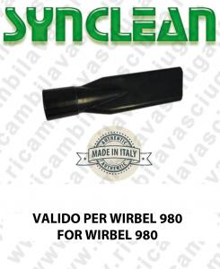 Accessori Aspirapolvere Lancia Piatta  valido per kit da Ø 40 NERO  Valido per aspirapolvere WIRBEL 980