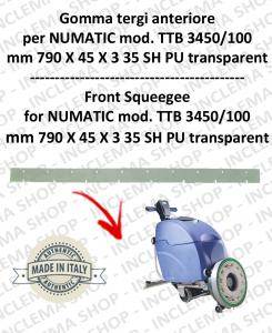 Gomma tergi anteriore per lavapavimenti NUMATIC mod. TTB 3450/100
