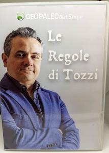 Las Reglas de Tozzi - Show de GeoPaleoDiet. Doble video DVD - Episodios 1-8