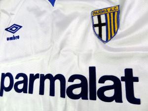 1989-90 Parma Maglia Home #10 Match worn (Top)