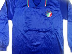 1986-87 Italia Maglia Home #21 Match worn (Top)