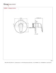 MISCELATORE INCASSO DOCCIA SERIE 2 - F3209X1