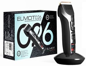 Elmot 026 - Turbo Professional Cordless LCD Hair Clipper