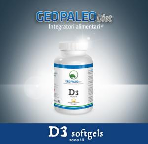 SCORTA 10pz Vitamina D3 Alto Dosaggio 2000 UI in capsule softgel con Olio di Oliva