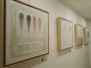 Tele 60x60 x 4 cm in Misto Cotone Gallery - Tele per Pittura - profilo 4 cm Bianche Linea 40