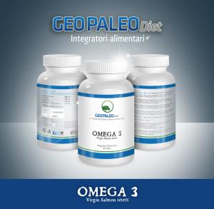 Omega 3 - Saumon vierge 100% - 60 gélules par gramme