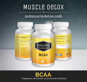 OFFERTA 18+2 pezzi BCAA Aminoacidi Ramificati 2:1:1 - Linea Muscle Detox