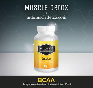 OFFERTA 26+4 pezzi BCAA Aminoacidi Ramificati 2:1:1 - Linea Muscle Detox