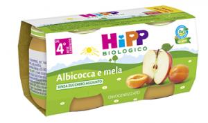 HIPP OMOGENEIZZATO BIOLOGICO ALBICOCCA/MELA