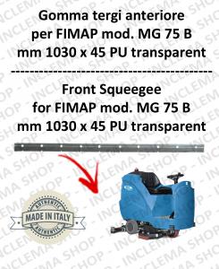 MG 75 B GOMMA TERGI anteriore per lavapavimenti FIMAP