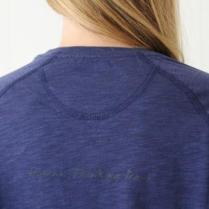 T-Shirt H-CAMPUS blue melange