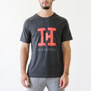 T-Shirt H-CAMPUS grey melange