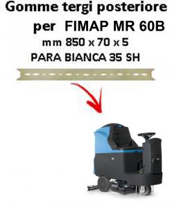 Gomma tergi posteriore per lavapavimenti FIMAP - MR 60B