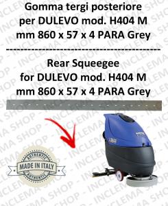 H404 M serie 6 GOMMA TERGI lavapavimenti posteriore per DULEVO