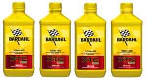 OLIO MOTORE BARDAHL XTC C60 per MOTO e SCCOTER 4 TEMPI BASE SINTETICA  SAE10W40