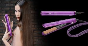 Gamma+    Piastra per capelli Professionale ONE 230 - Colore VIOLA