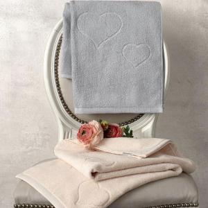 Coppia di asciugamani set 1+1 TWINSET Mon Amour in spugna