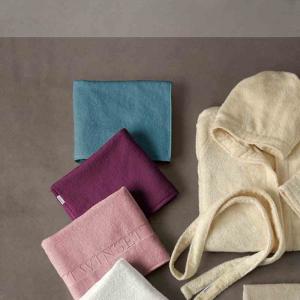 Coppia di asciugamani set 1+1 TWINSET Vanity in spugna