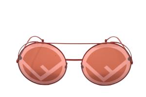 Occhiale Fendi – Montatura in Metallo Rosso