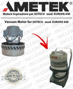 EUROPA 440 MOTORE ASPIRAZIONE AMETEK per aspirapolvere SOTECO