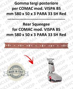 VISPA 35 BS gomma tergi  posteriore per lavapavimenti  Comac