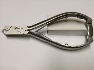 Tronchese punta curva a doppia molla in Acciaio INOX - cm14