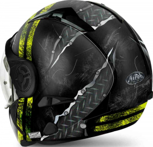 CASCO MOTO MODULARE AIROH J 106 CRUDE YELLOW MATT