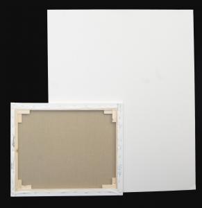 Tele 17mm in Lino per dipingere - profilo 17mm - Telaio Telato 17 mm Puro Lino