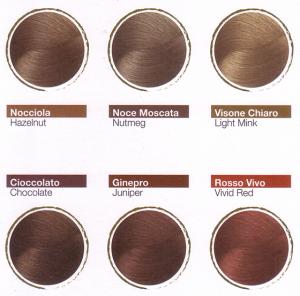 Organic Innovativa Colorazione Per Capelli Nocciola Silium