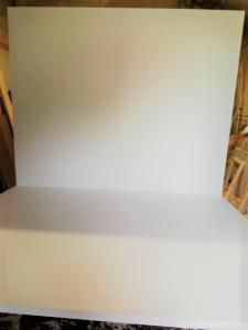 Tele 150x600 cm Gallery per dipingere  - Tele per Pittura - profilo 4 cm Bianche grandi dimensioni