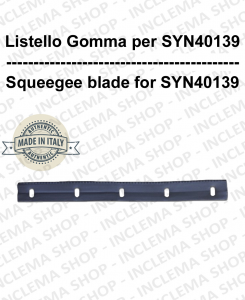 Listello gomma per spazzola SYN40139