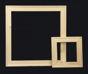 Listelli per Telai 40 x 35 mm - Listelli in legno - Listelli con angoli ad incastro 45 gradi