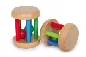 Anelli prensili in legno, gioco manuale neonato.set da 2