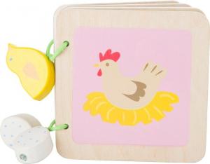 Libro per neonati in legno Fattoria giocattolo in legno per neonato