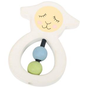 Tattile in legno Pecorella Lotta gioco per neonato