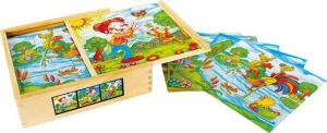 Puzzle a dadi 3d il mondo di Lotte Gioco x bambino/bambina