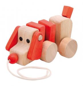 Cane animale da tirare in legno Gioco x bambino/bambina