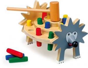 Banco da lavoro giocattolo in legno Mod. Riccio gioco didattico per bambini