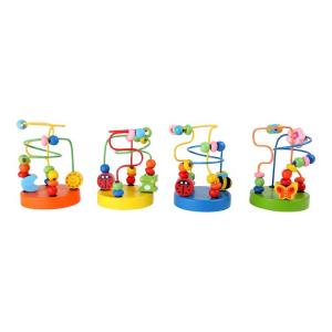 Display 6 pezzi gioco in legno bambini motricità Primavera