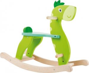 Dinosauro a dondolo in legno per bambini