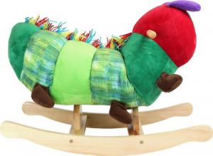 Bruco a dondolo giocattolo per bambini, Maisazio